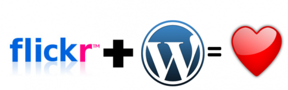 Flickr and WordPress, a perfect match